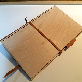 wood sistem notebook/Card cace