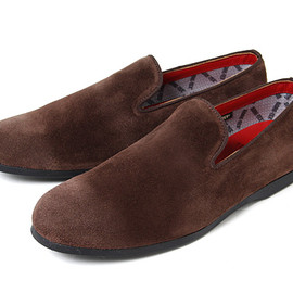 nonnative, Regal - PASSENGER SLIP ON SHOE - COW SUEDE WITH GORE-TEX® 2L BY REGAL for (GS) (Brown)