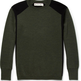 Marni - Wool Crew Neck Sweater