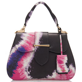 PRADA - SS2019 Large Tie-Dye City Calf Cartella Bag