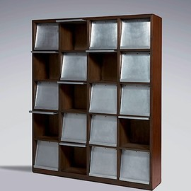 Double-sided file rack, 1957-58