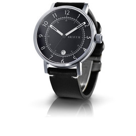 Bravur - Stainless steel - Black dial