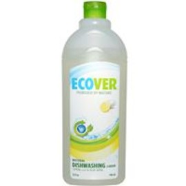 Ecover - Natural Dishwashing Liquid, Lemon Scent & Aloe Vera
