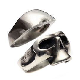 JAM HOME MADE - HALF SKULL RING -SET-