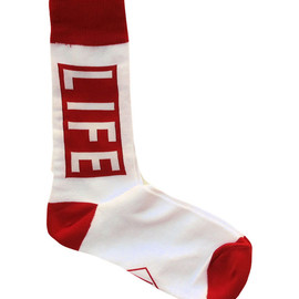 Altru Apparel - Altru Apparel LIFE Magazine Logo Socks