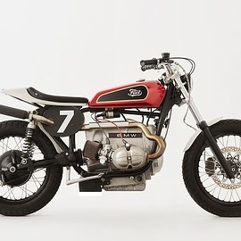Fuel Bespoke Motorcycles - BMW R100 Tracker #2