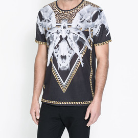 ZARA - Bone T-shirt