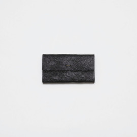 irose - paper long wallet / black