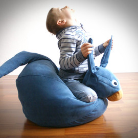 ilSaccotto - Blue Kangaroo bean bag