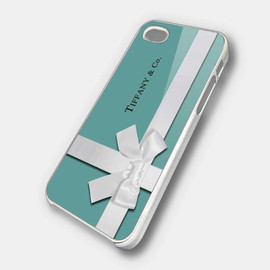 Tiffany & Co. - Tiffany Blue Box Inspired iPhone 5 Case, iPhone 4 Case, iPhone 4s Case, iPhone 4 Cover, Hard iPhone 4 Case OC18