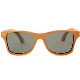 SHWOOD - Canby Cherry Polarized Grey Sunglasses