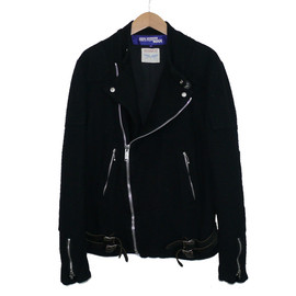 JUNYA WATANABE COMME des GARCONS MAN, Lewis Leathers - +ルイスレザー 縮絨ウールライダースジャケット