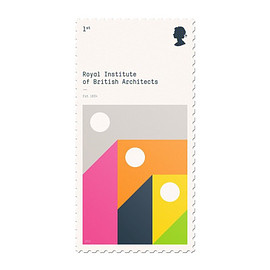 Royal Institute of British Architects - stamp