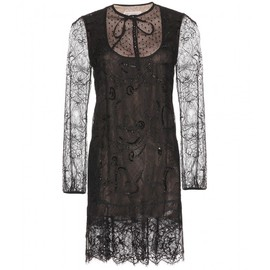 Emilio Pucci - EMBELLISHED LACE DRESS