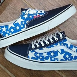 VANS - VANS OLD SKOOL & ERA STARS DRESS BLUES/TRUE WHITE