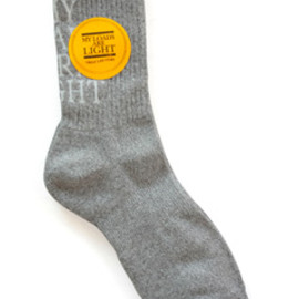 MY LOADS ARE LIGHT - MLAL Sox (light grey)