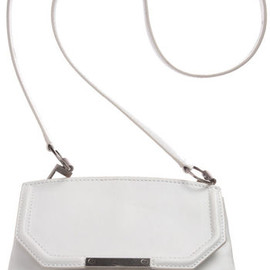 Alexander Wang - Marion Mini Sling Bag in White (nickel)