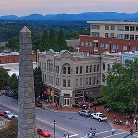 ASHEVILLE , NC - DOWNTOWN