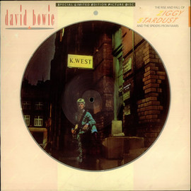 """David Bowie - Ziggy Stardust and The Spiders From Mars 12"""" PICTURE DISC"""