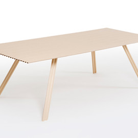Benjamin Hubert - Lightest Timber table