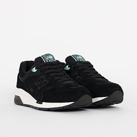 New Balance - CM1600GM - Black/White/Turquoise