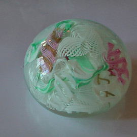 Very Nice Rare Antique Glass Paperweight