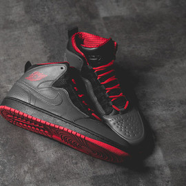 "Nike - Air Jordan 1 Retro '94 ""Anthracite & Red"""