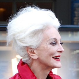 Carmen Dell'Orefice The Beautiful Oldest Model - 80歳でこの美しさ。美しい白髪。