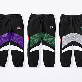Supreme, NIKE - Water resistant nylon Warm Up Pant