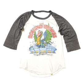 The Rolling Stones - Tour 1981 LIVE IN CONCERT Raglan sleeve Tshirt