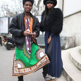 street - Paris Fashion Week street style. [Photo by Kuba Dabrowski]