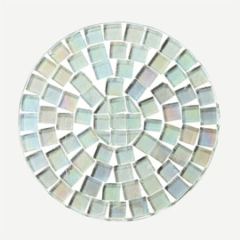 THE CONRAN SHOP - IREDESCENT MOSAIC COASTER