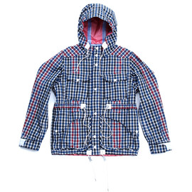 WHITE MOUNTAINEERING - GORE-TEX T/C CHECK FIELD JACKET
