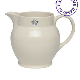 Liberty London - White China Jug, Emma Bridgewater