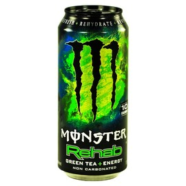 MONSTER ENERGY - Monster Rehab Green Tea Plus Energy