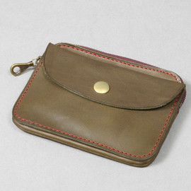 ARTS&CRAFTS - ELBAMATT ACC TWIN PURSE/olive
