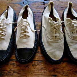 US NAVY CANVAS DECK SHOES