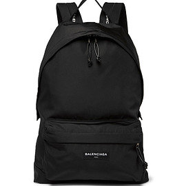 BALENCIAGA - Explorer Canvas Backpack