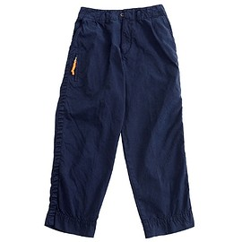 PORTER, kolor BEACON - Traveling Wide Pants - Navy