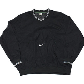Nike - Vintage 90s Black Nike Windbreaker Jacket Mens Size XL
