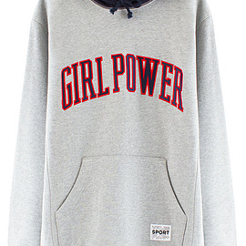 VFILES SPORT PLUS - GIRL POWER HOODIE