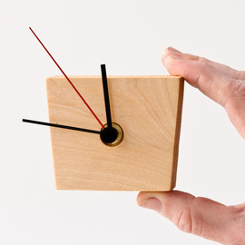 lessandmore - Wood Wall Clock EIKO