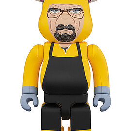 MEDICOM TOY - BE@RBRICK Breaking Bad Walter White (Chemical Protective Clothing Ver.) 1000%