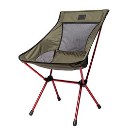 Mountain Standard - CAMP CHAIR - Olive/Red