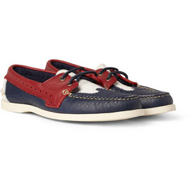 THOM BROWNE - Thom BrowneLeather Brogue Boat Shoes