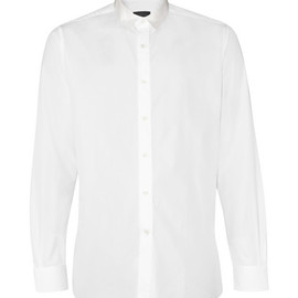 LANVIN - Grosgrain Collar Shirt