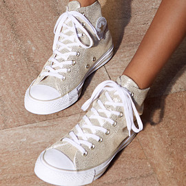 Converse - Converse Chuck Taylor All Star Stingray High-Top Leather Sneaker