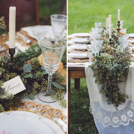 Green Wedding Shoes - fall farm inspiration
