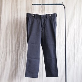YAECA - Chino Piped Narrow #navy