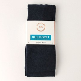 BLEU FORET - Cotton Tights / Navy